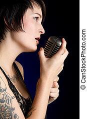 唱, 女孩
