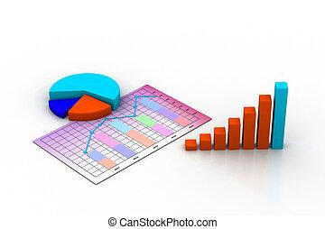 商业, 图表, 图表, 图形