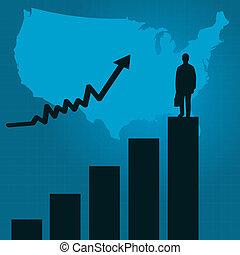 商业, 条形图