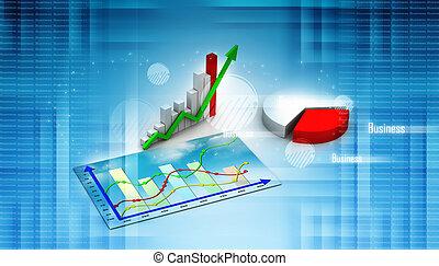 商业, graph., 图表, 图形