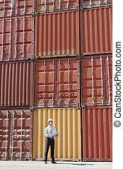 商人, 容器, 貨物