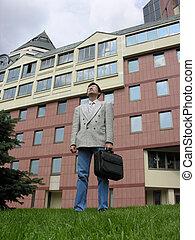 商人, 建築物