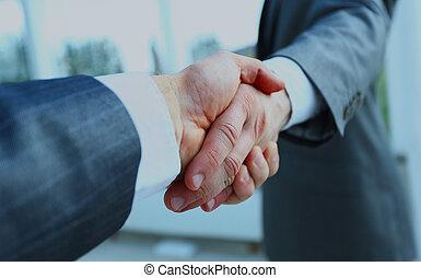 商人, 振動, 二, hands.