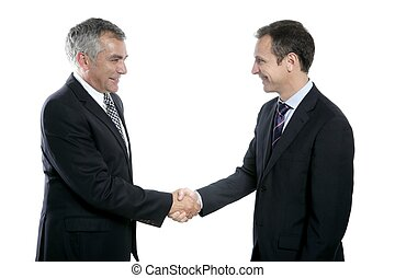 商人, 握手, 專門技能, 成人, 肖像