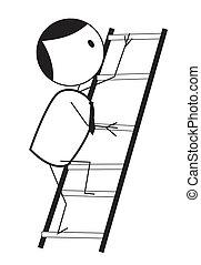 商人, 梯子