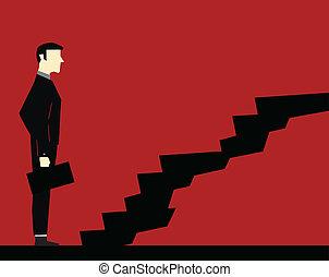 商人, 樓梯