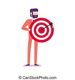 商人, 目標, 藏品, arrow.