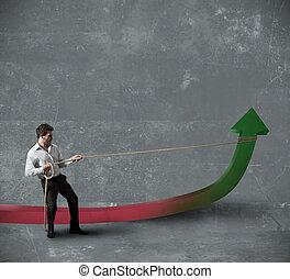 商人, 統計數字, 變化