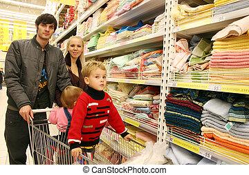 商店, 家庭