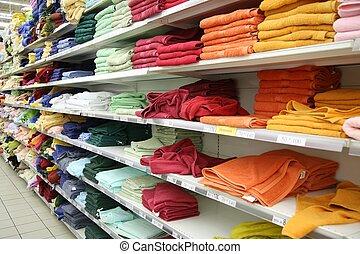 商店, 毛巾