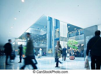 商業中心, 室內