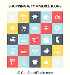 商業, 買い物, アイコン