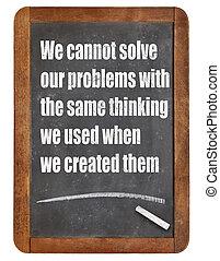 問題解決, mindset
