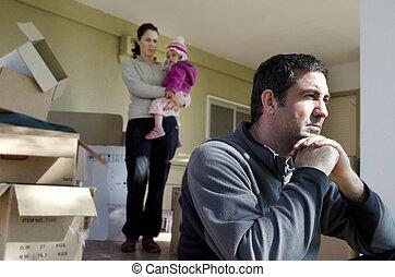 問題, -, 家族, ホームレスである