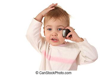 問題, 把當嬰儿看待用, 電話
