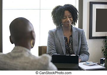 問題, 黒人女性, 仕事, 女性実業家