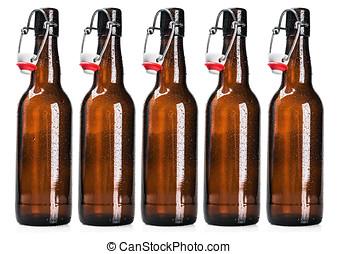 啤酒, 打開, 瓶子