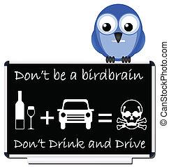 喝酒和開車, 消息