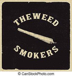 喫煙者, 雑草