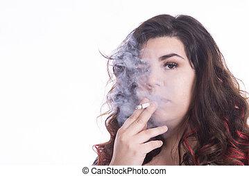 喫煙者, curvy