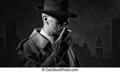 喫煙, 人, タバコ