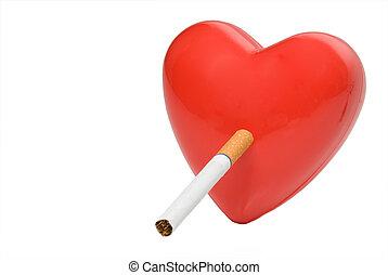 喫煙, 心