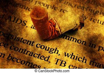 喫煙, 概念, グランジ, 殺す