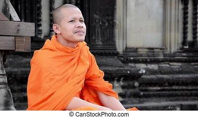 喫煙, khmer, 修道士, タバコ