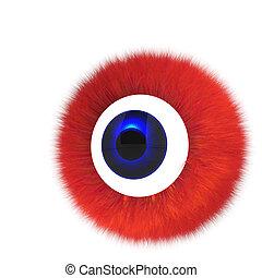 單個, 眼睛, 怪物