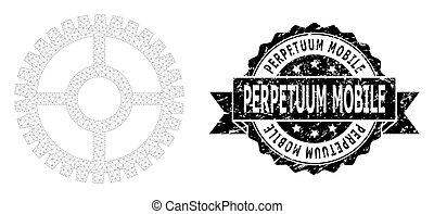 噛み合いなさい, perpetuum, シール, モビール, 時計, リボン, 苦脳, コグ, 死体