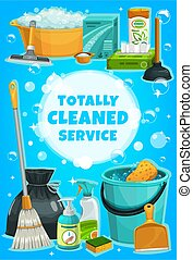 器具, 服务, 工具, 家务劳动, 打扫