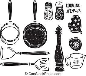器具, 烹調