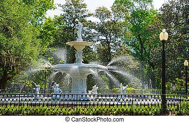 噴水公園, forsyth