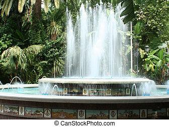 噴水, 中に, seville