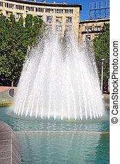 噴水, 中心, ベオグラード