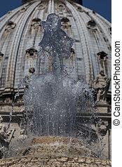 噴水, st. 。 ピーターの スクエア