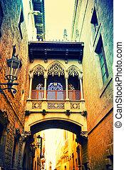四分の一, gothic, バルセロナ
