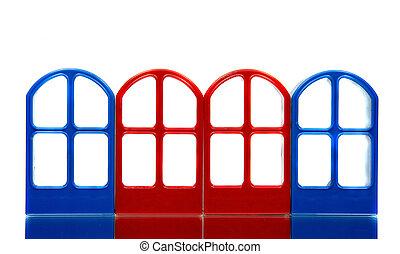 四, 空, 門, 框架