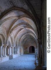 回廊, 修道院