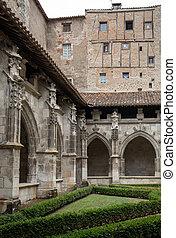 回廊, occitanie, cahors, 大聖堂, フランス, 中世, etienne, 聖者