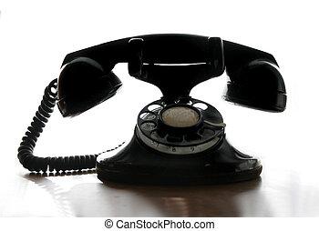 回転式の電話