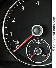 回転速度計, 自動車