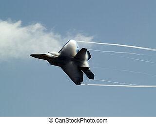回転, 急速, f-22