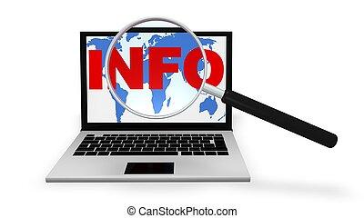 因特網搜尋, 為, 資訊