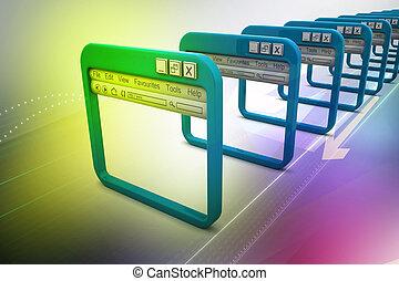因特网浏览器