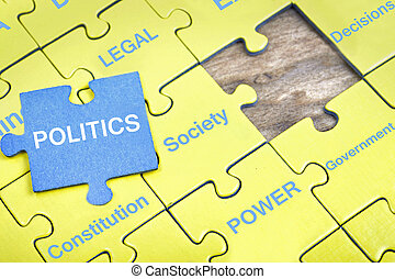 困惑, ∥で∥, 単語, 政治