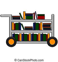 図書館のカート