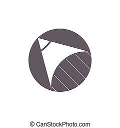 図画, ロゴ, 教育, ベクトル, 鉛筆, 速い