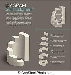 図, 灰色, infographic, ビジネス