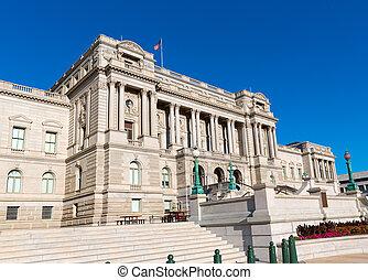 国会図書館, トーマス・ジェファーソン, 中に, ワシントン